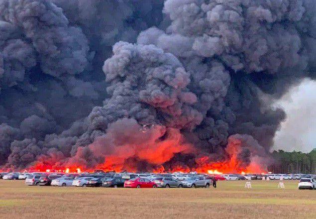 Na Floridi izgorjelo 3.500 rent-a-car vozila uz zračnu luku