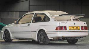 Ford Sierra RS Cosworth iz 1987. traži novog kupca, u zapuštenom stanju može dosegnuti cifru od 40.000 eura 2
