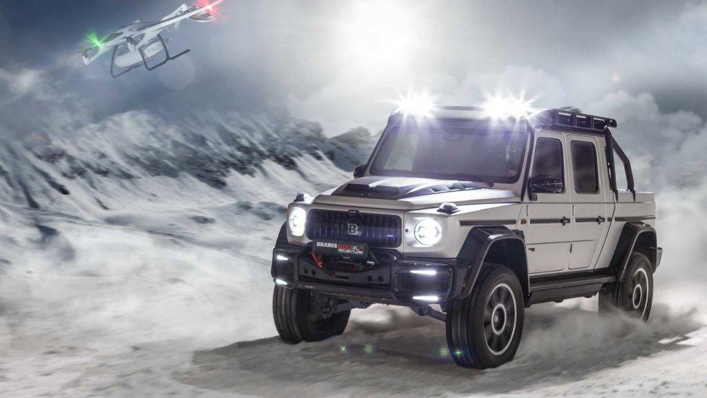 Brabus 800 Adventure XLP - šeici već broje novce, G-klasa kao pick-up spremna za sve!