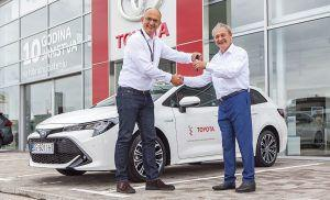 Toyota Corolla Touring Sports Hybrid isporučena Hrvatskom paraolimpijskom odboru, uspješna suradnja se nastavlja