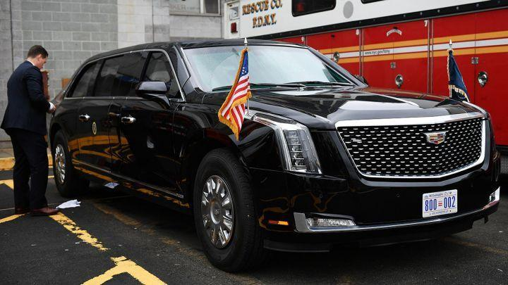 getty images presidential limo