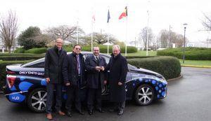 Europski parlament dobio na test Toyotu Mirai!