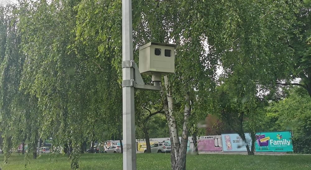 kamera radar