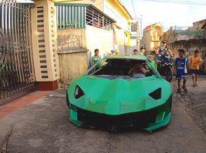 Lamborghini Aventador SVJ načinjen od kartona, ovu kreaciju morate vidjeti!