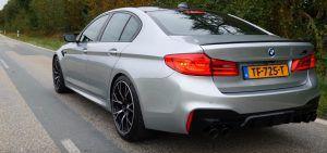 BMW M5 Competition ubrzava do 300 km/h kao od šale!