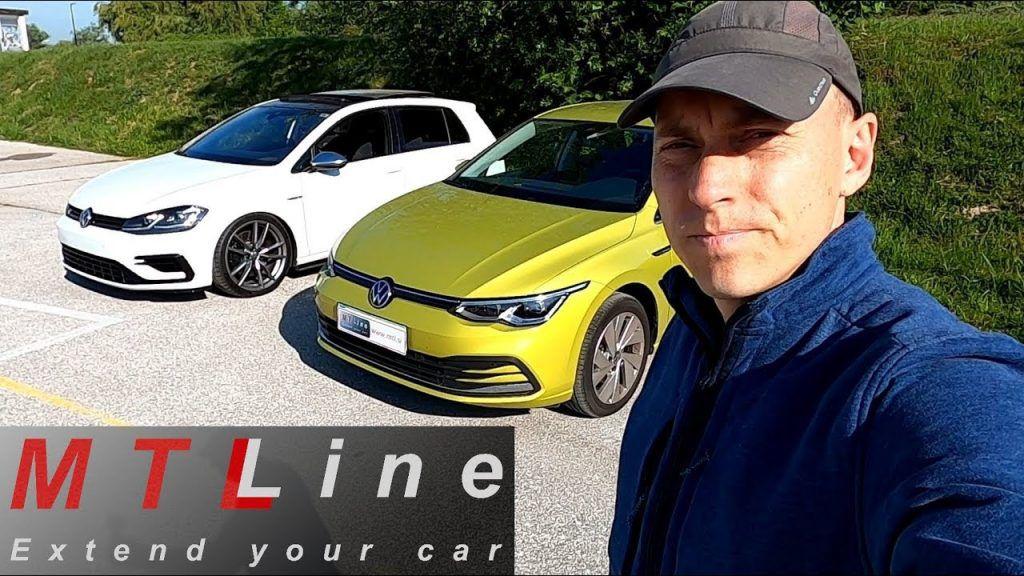 Volkswagen Golf 8 u usporedbi s prethodnikom, rezanje troškova je itekako vidljivo!