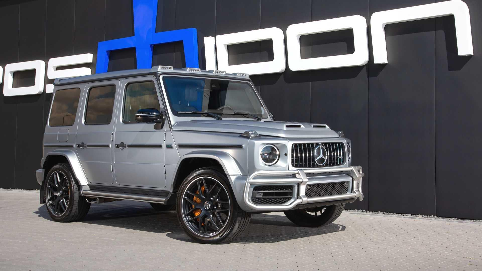 mercedes amg g tuned by posaidon