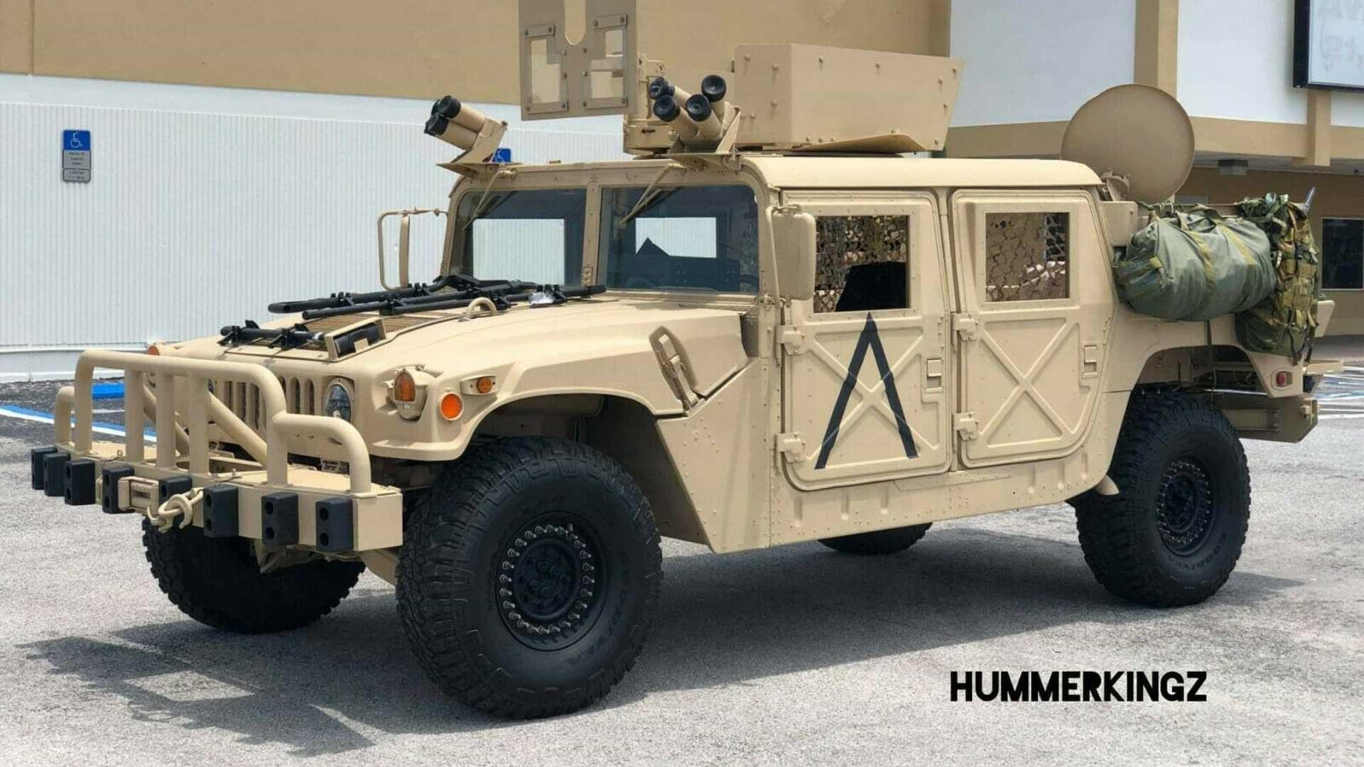 military spec  hummer h for sale