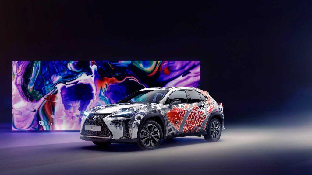 Lexus će predstaviti prvi tetovirani automobil na svijetu, model UX postaje umjetničko djelo!