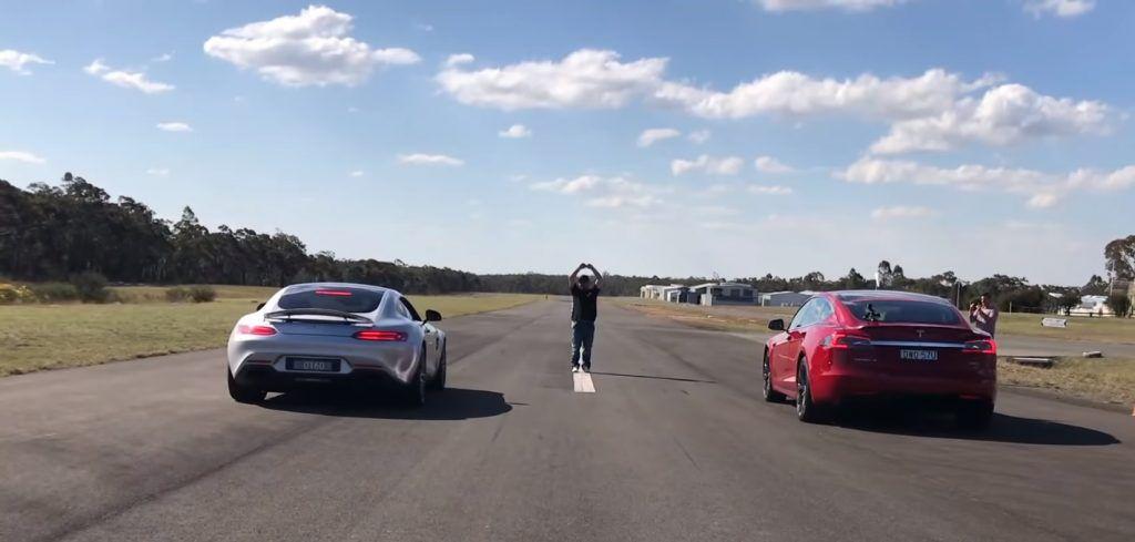 Utrka ubrzanja: Tesla Model S P100D izazvala na 'crtu' Mercedes-AMG GT S, struja konačno superiornija?