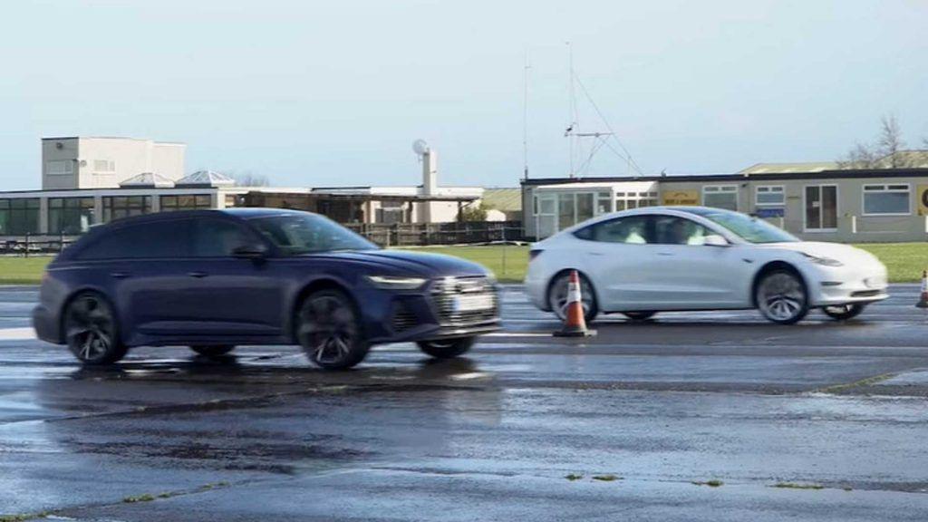 Audi RS6 vs Tesla Model 3, benzinski monstrum ili struja?