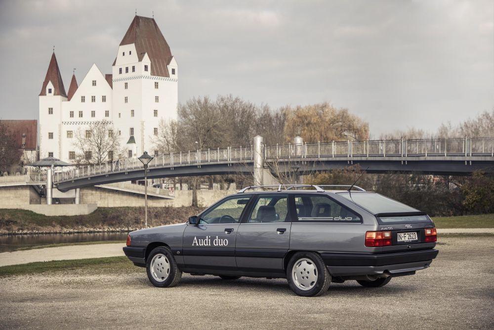 Audi Duo bio je prvi plug-in hibrid iz Ingolstadta prije točno 30 godina! 4